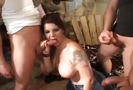 She screams from pleasure