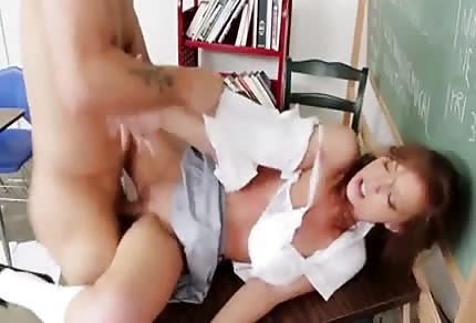 This student likes to be fucked in the classroom