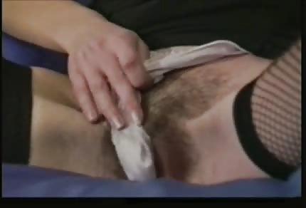 Wet finger in her pussy