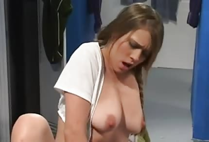 Fucked by her trainer