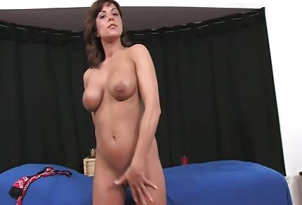 Dildo is her favourite toy