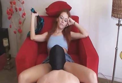 Redhead likes oral sex