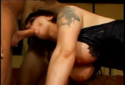 Gangbang with a hot girl