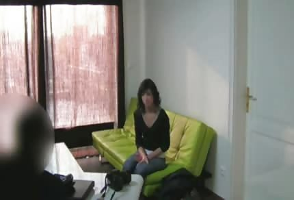 Curvy ass on the casting couch