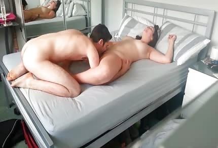 He is licking his wife