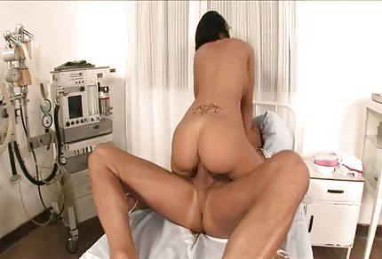 Naughty horny nurse