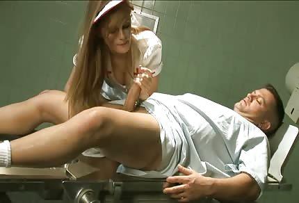 Redhead perverted nurse