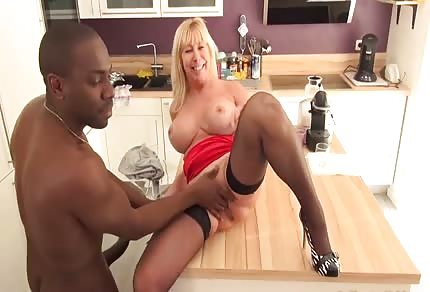 Curvy mommy and black guy