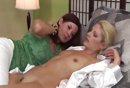 Sexy bitches on the bed