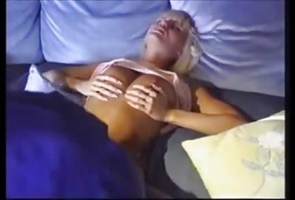 Anita Blonde likes black cocks