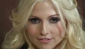 Really hot blonde girl