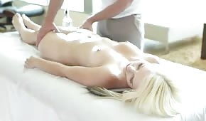 Passionate long massage