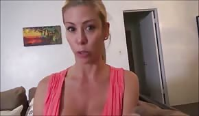 MILF wants a young penis of her adoptive son