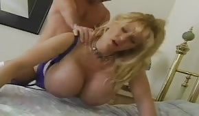 Amazing mommy with awesome tits
