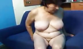 Grandma is being fucked from behind