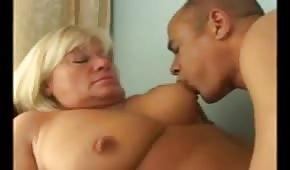 Horny grandmother
