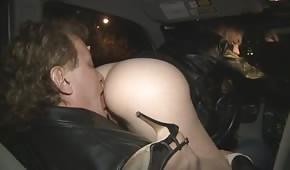 He's licking her big ass