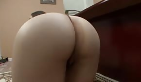 Fat brunette with a big ass