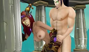 Porn animation from the world of WOW part 2