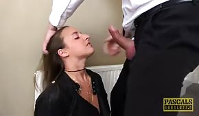 Businessman wants to fuck her hard