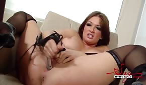 Tory Lane is testing a new toy