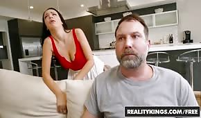 The guy moves his neighbor 's wife