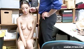 Petite shoplyfter ride that monster cock on top - PORN.COM