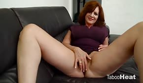 Redhead mum feels like divine sex