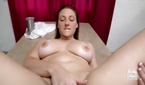 Round body of a horny stepmother