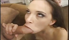 Divine blowjobs and mouth cumshots