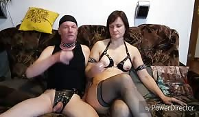 He fucked his mature wife in the asshole