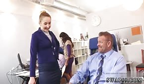 Cool chicks are pulling dicks in the office