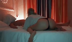 Night porn with an easy doll