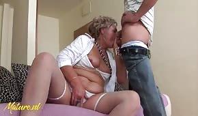 Horny Granny Wants To Fuck